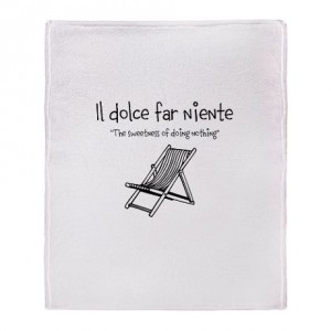 il_dolce_far_niente_beach_throw_blanket