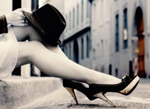 high-heels-trend-fashion-2014-autumn-hat-model-street